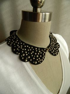 LAST ONE in STOCK this color/studs 2 Sided by violajanedesigns, €26.00