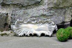 Silverplate Ornate Trinket Tray. Vintage. Art by NorthMajestyTrail