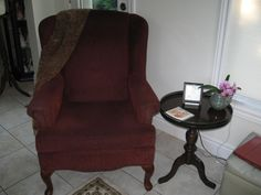 Wing Back Chair $20.