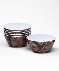 Look what I found on #zulily! Real Tree Bowl - Set of Six by Design Imports #zulilyfinds