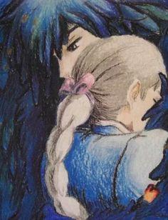 Howl's Moving Castle / Howl no Ugoku Shiro (ハウルの動く城) - Reunited by ~Vapor-Neko… Howl's Moving Castle, Totoro, Studio Ghibli Art, Studio Ghibli Movies, Hayao Miyazaki, Personajes Studio Ghibli, Howl And Sophie, Chihiro Y Haku, Castle In The Sky