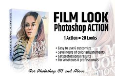 Film Look Action by WeLovePresets on @creativemarket