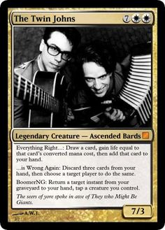TMBG (MTG) magic  card