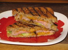 Steak, Avocado and Cheddar Panini- 340 calories « Lose Weight by Eating!