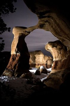 The Arch. The Devils Playground in Escalante , Utah.