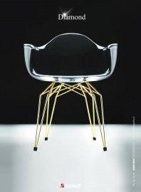Diamond arm chair