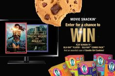 What's better than watching at home with Goodie Girl Cookies? Don't miss your chance to win a Flat Screen TV | Blu-ray™ Player | @WonderWoman Blu-ray™ Combo Pack and a case of gluten-free @GoodieGirlCookies. ENTER TODAY!  http://www.goodiegirlcookies.com/wonderwoman Click here to check out everything Wonder Woman: http://bit.ly/WonderWomanFilm
