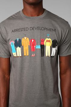 Arrested Development Outfits Tee- Really don't care that it's a men's tee. I'll buy it.