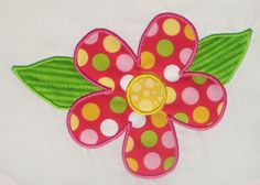 flower applique design - Google Search