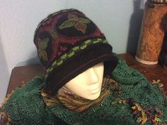 New Downton Abby cloche hat designed for Yorkshire yarns, Lakewood wa