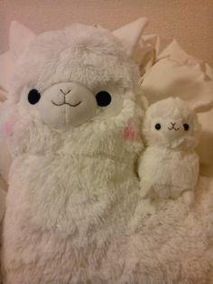 Kawaii Alpaca Plush by Arpakasso