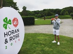 New gram from Niall - Thanks @polaroid for helping #HoranandRose capture a great charity weekend for @CRUK_kids #polaroid by niallhoran