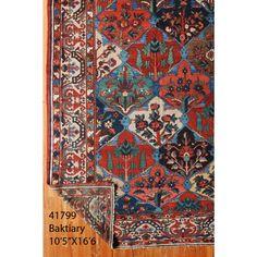 Antique Persian Bakhtiari Rug (worth $30,000) WOW. The pattern is phenomenal!