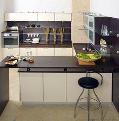 Modern Two-Tone Kitchen Cabinets #18 (Kitchen-Design-Ideas.org)