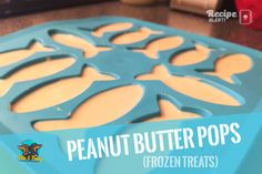 As we all know - Ollie loves his peanut butter - so when this rather quick and simple recipe popped up on our Facebook feed by - Peanut Butter Treats Facebook Feed, Frozen Treats, Vegan Gluten Free, Peanut Butter, Sausage, Easy Meals, Tasty, Pop, Lifestyle