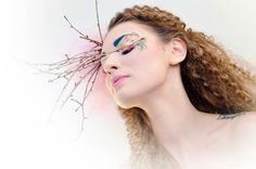 La primavera_canvas #5 Up Theme, Make Up, Mirror, Studio, Artwork, Spring, Maquiagem, Maquillaje, Study