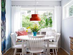 Swedish kitchen/eating area