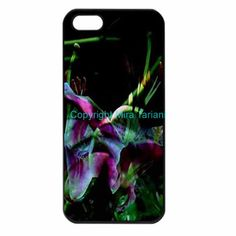 "iPhone case with image from my photo gallery, ""Water Flower"""