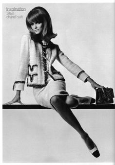 1963 Chanel suit - Wow! 50 years. This is a classic