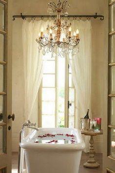 #bathroom #french #ideas #home @artisanslist ❤️❤️❤️    romantic french bathroom
