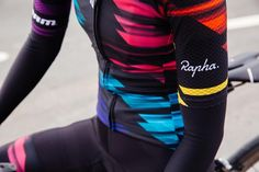 Canyon//SRAM multi-coloured kit was designed by Rapha