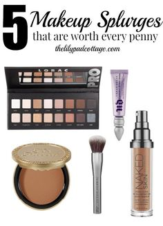 5 Makeup Splurges you can't live without by The Lilypad Cottage