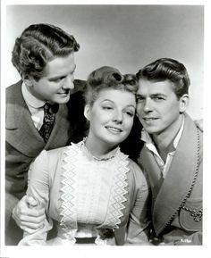 'Kings Row'  Robert Cummings, Ann Sheridan and Ronald Reagan