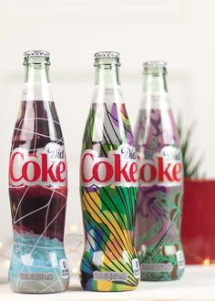 Diet Coke 'It's Mine' Bottle Design Inspired Makeup Look via Jessoshii | #MyUnique4 #ad