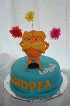 Lorax cake - inspiration idea