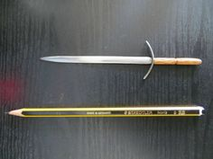 Sword - Imgur made from a nail