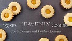 Bake your best cookies ever! Learn the secrets to nine sweet treats from three-time James Beard Award winner and cookie guru Rose Levy Beranbaum. Online Cooking Classes, Baking Classes, Cooking Classes For Kids, Culinary Classes, Cooking School, Filled Cookies, Drop Cookies, Giada De Laurentiis, Cooking Supplies