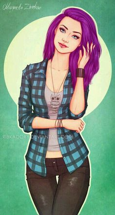New hair brown violet character inspiration Ideas Character Concept, Character Art, Concept Art, Character Ideas, Dibujos Percy Jackson, Illustrations, Illustration Art, Jolie Photo, Female Characters