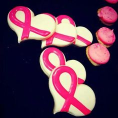 Carly Potter: Breast Cancer Awareness cookies