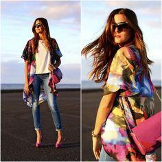 Look: Printed Kimono - Marianela Hdez - Trendtation