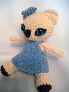 Virgo Kitten free crochet pattern- Crochet Me
