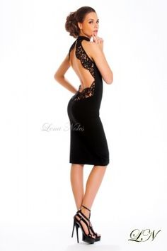 Sexy little black dress for a night on the town after the ball :)