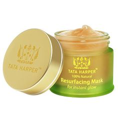 Tata Harper Resurfacing Mask is an award-winning beta-hydroxy treatment that works like a traditional peel to provide an instant solution for dull skin – without causing downtime or irritation. Delivers instant glow, minimizes the appearance of pores and improves texture for smooth, glowing skin. Formulated to deeply purify and help decongest surface debris and dead skin for a refreshed, instantly revitalized appearance. #skincare