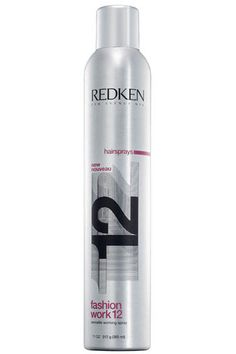 Redken Fashion Work 12 - Versatile Working Spray - This is a great spray for styling, but if you're looking for hold, this isn't your product. It allows me to shape and mold and keep control throughout the day without a lot of freeze! Holiday Hairstyles, Celebrity Hairstyles, Cool Hairstyles, Perfect Blowout, Redken Hair Products, Salon Style, Health And Beauty Tips, Protective Hairstyles, Shampoo And Conditioner
