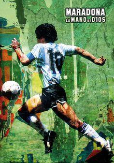 Sc'Art / Maradona la mano de Dios