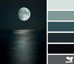 paletta colori con il nero