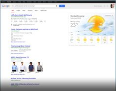 What will the weather be like on Saturday Google SERP