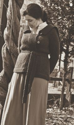 Lady Sybil's (Downton Abbey!) Sweater Knitting Pattern