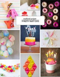 Poppytalk: Yay! 9 Pretty Party Decor DIYs!