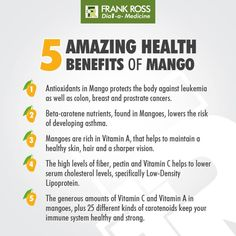 #Mangoes are not just delicious to eat, they are great for your #health too! #FRHealthTip