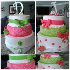 Double Sweet Sixteen Birthday Cakes | Flickr - Photo Sharing!