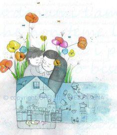 иллюстрации Francesca Quatraro - Много бисера не бывает...