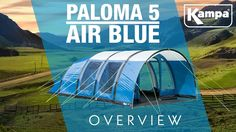 K&a | Paloma 5 AIR (Blue) | Overview & 28 Best Outdoors And Camping images | Package deal Air tent Teepees