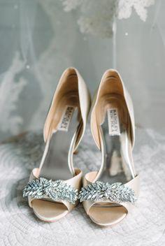 Badgley Mischka #wedding shoes