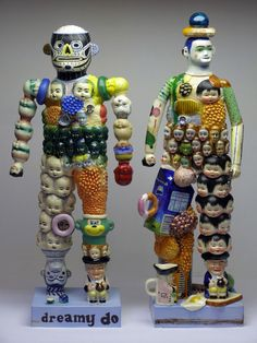 Stephen Bird ceramics - art borders insanity!