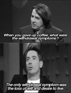 I'm in love with #RDJ